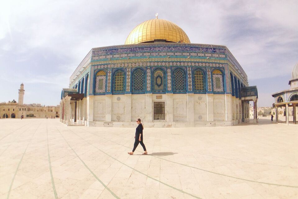 About Anne Christine Persson The Art of Travel Dome of the Rock Qubbat al Sakhrah Jerusalem Israel Blog