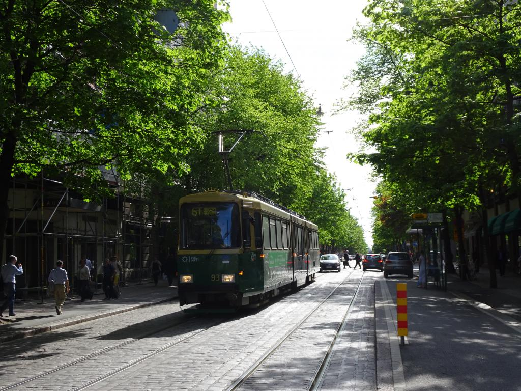 Tram Helsinki The Art of Travel Guide