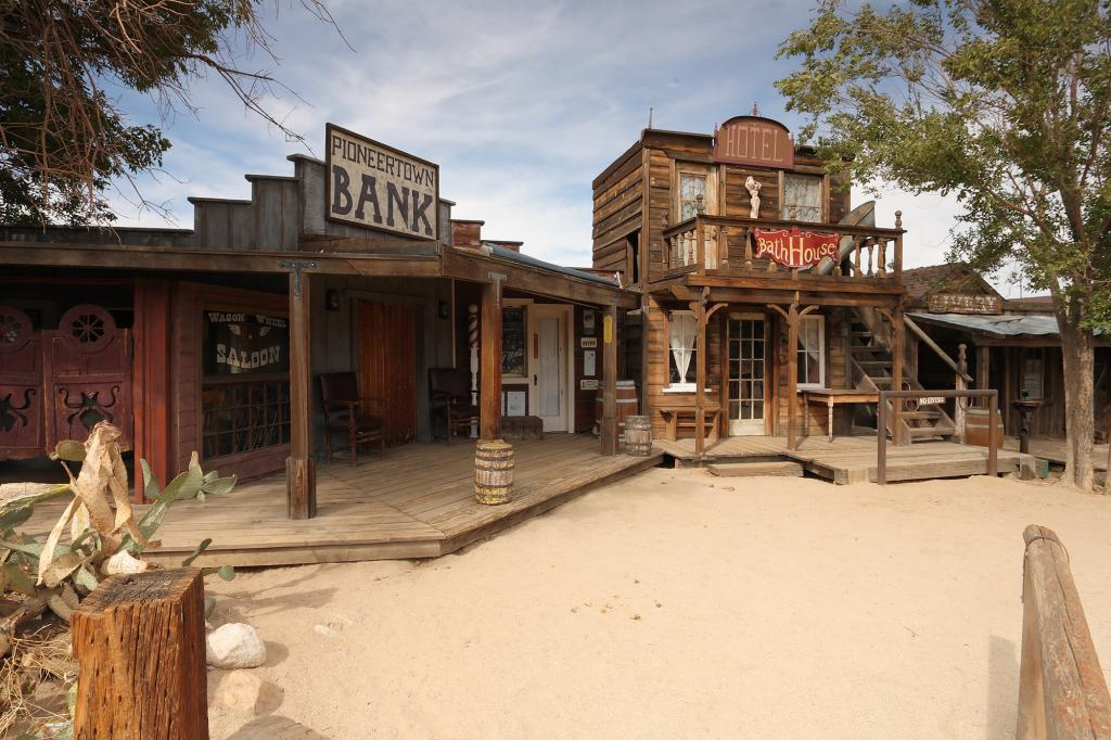 Pioneer town Palm Springs Road Trips the Art of Travel