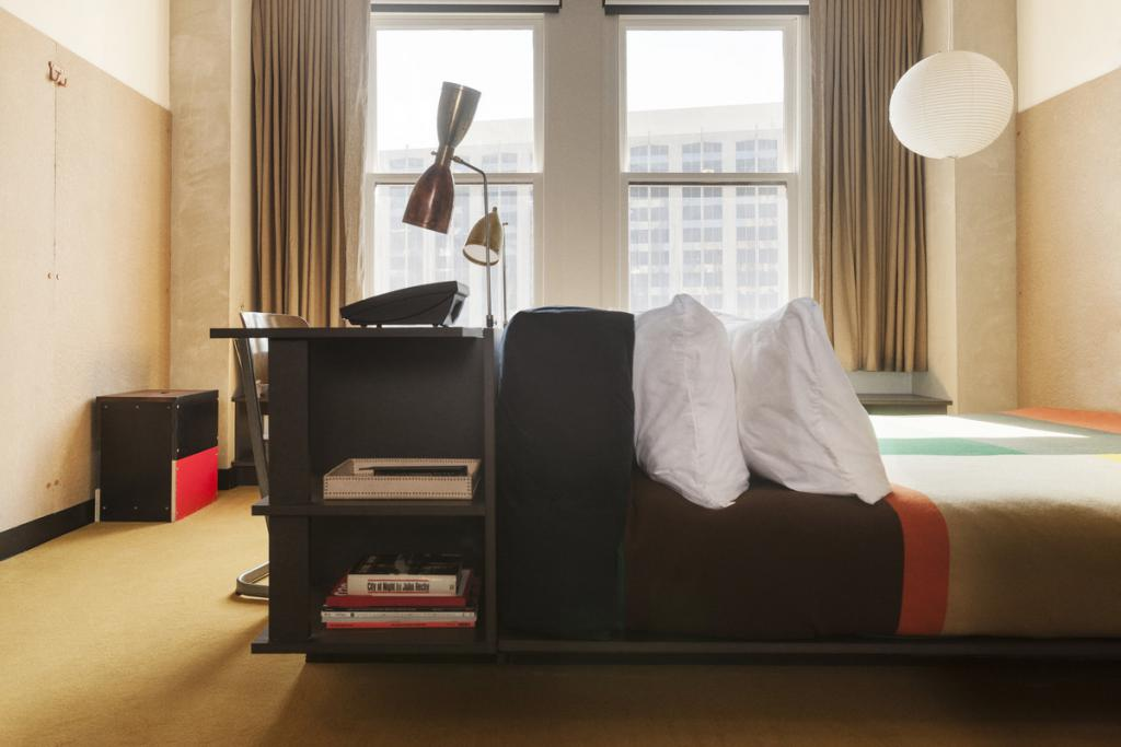 City Guide Downtown Los Angeles The Art of Travel ACE Hotel room