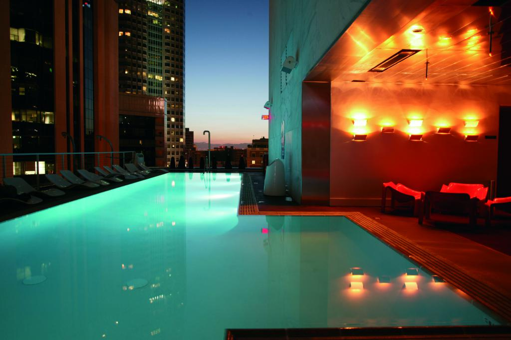 City Guide Downtown Los Angeles The Art of Travel The Standard Pool