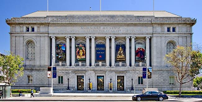San Francisco Museums Asian Art Museum exterior The Art of Travel