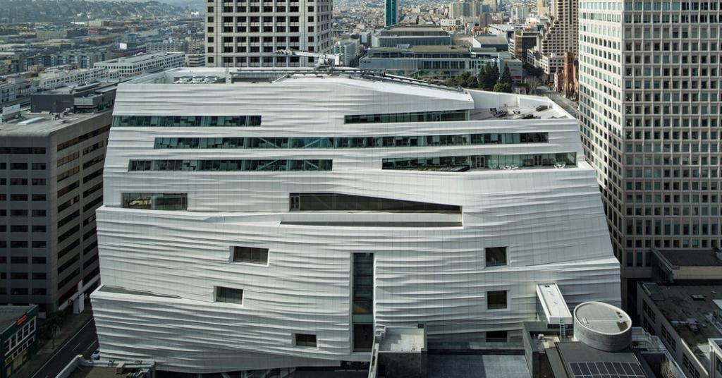 San Francisco Museums SFMOMA Snøhetta exterior The Art of Travel