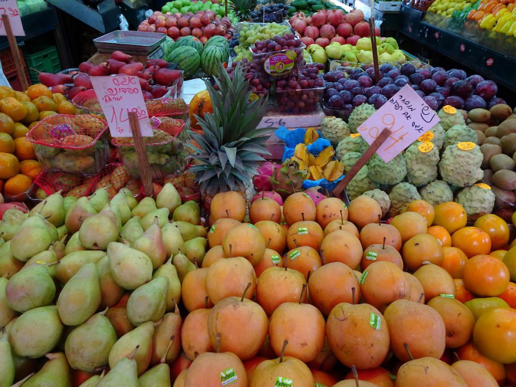 Carmel Market City Guide Tel Aviv The Art of Travel
