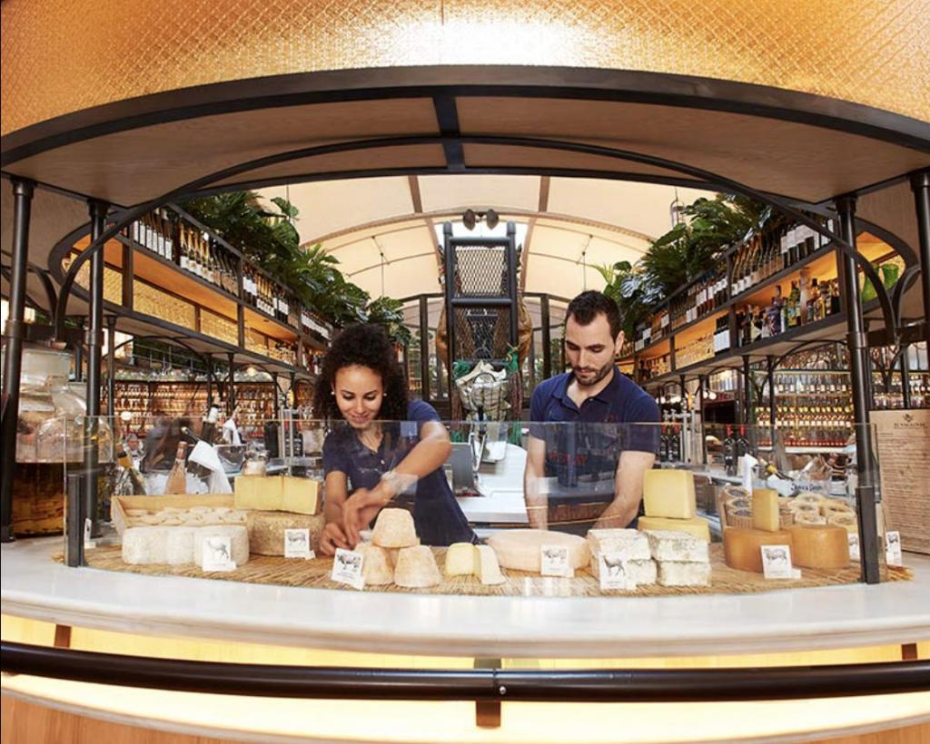 Insiders City Guide Barcelona The Art of Travel El Nacional cheese