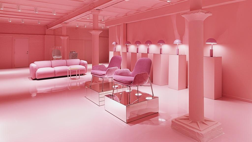 Pink Destinations The Art of Travel Normann Copenhagen