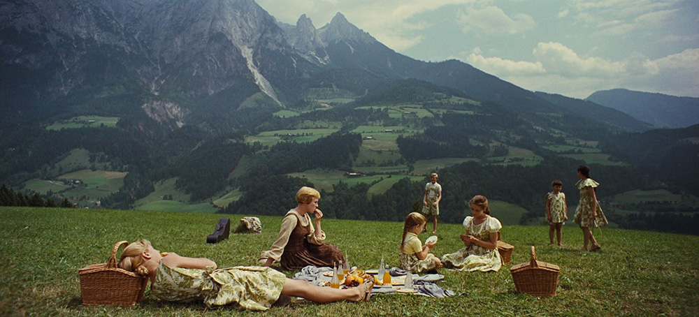 Wanderlust Inspiring Movies The Art of Travel The Sound of Music Mountain