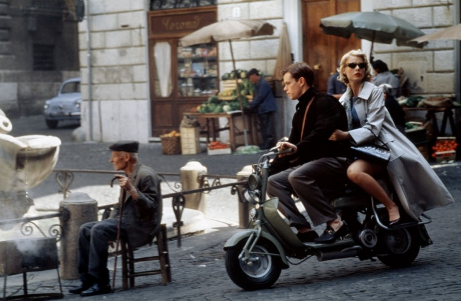 Wanderlust Inspiring Movies The Art of Travel The Talented Mr. Ripley Scooter