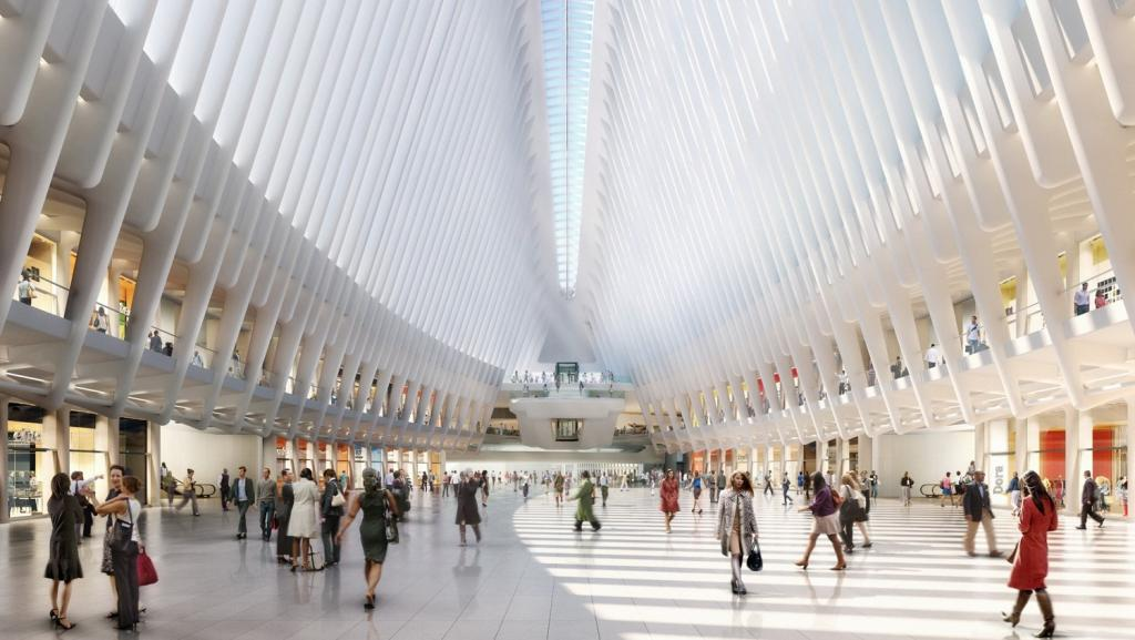 Five days in Iceland and New York The Art of Travel Westfield World Trade Center Oculus