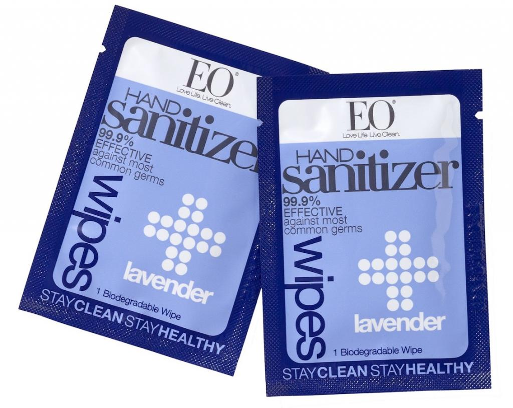World Traveller Kristin Tice Studeman The Art of Travel EO Lavender hand sanitizer