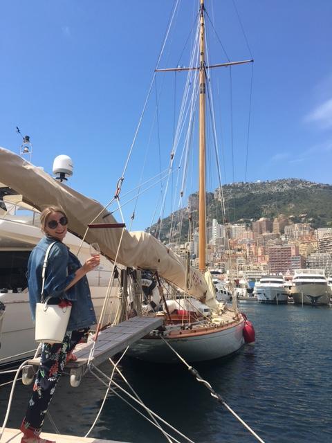 World Traveller Kristin Tice Studeman The Art of Travel Yacht