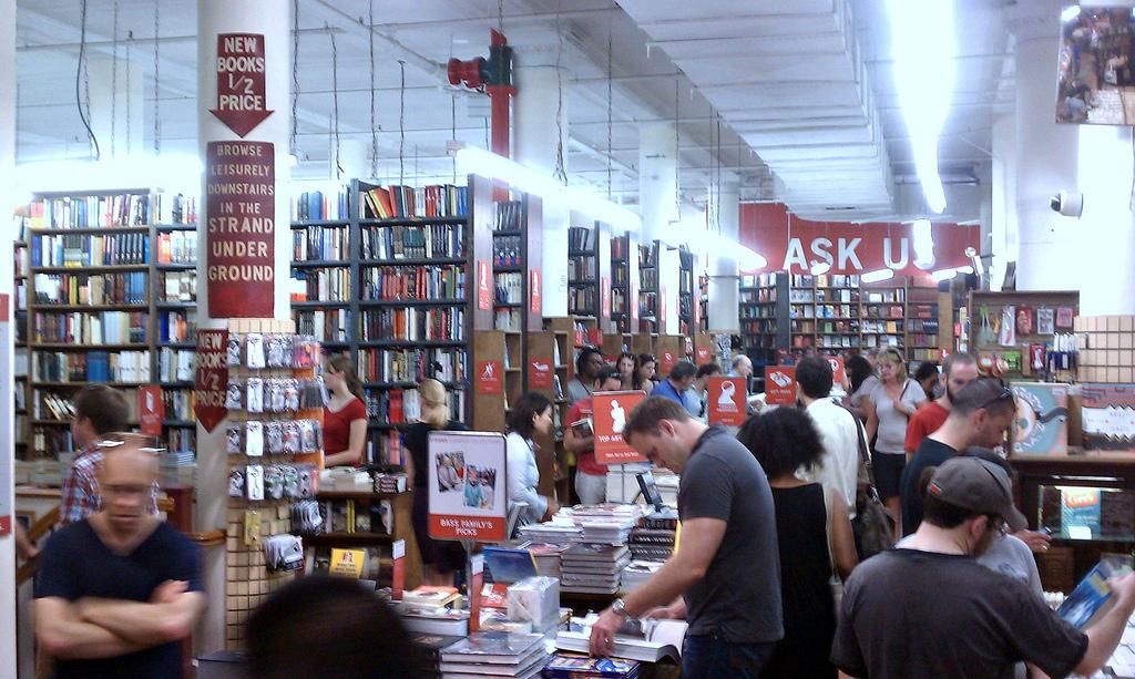 Five bookstores to travel for The Art of Travel Strand Books New York