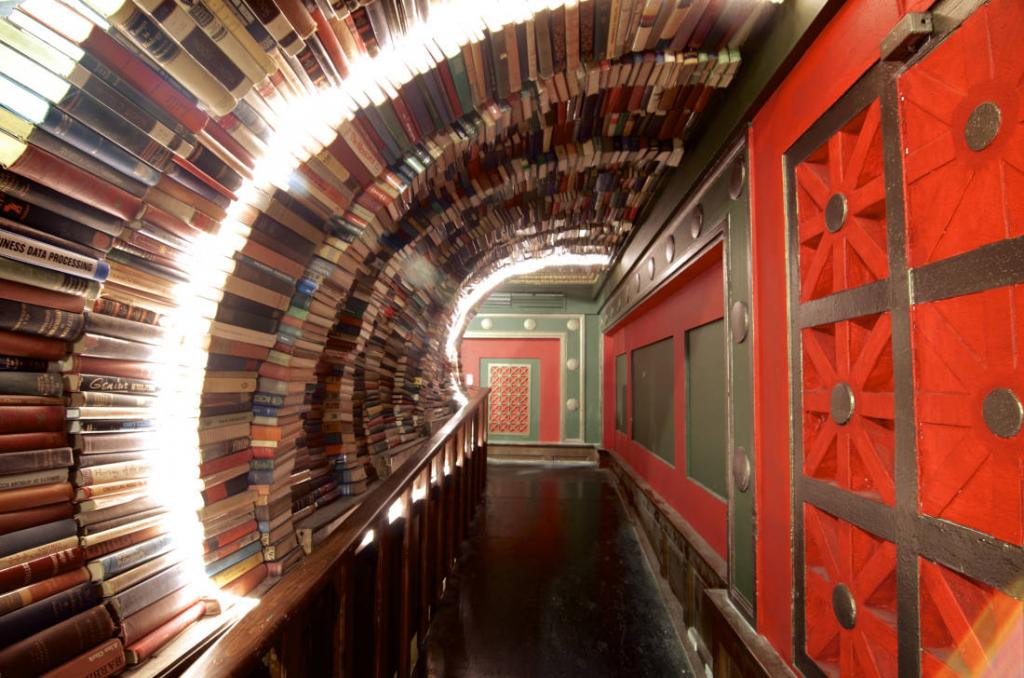 Five bookstores to travel for The Art of Travel The Last Bookstore Los Angeles