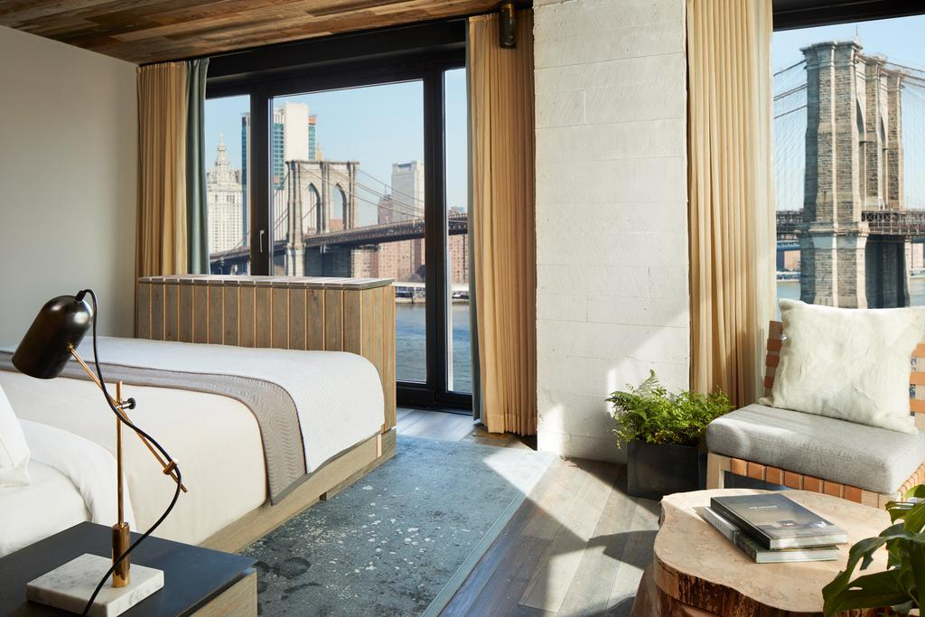Five Hotels in Brooklyn, New York The Art of Travel 1 Brooklyn Bridge Hotel Room view