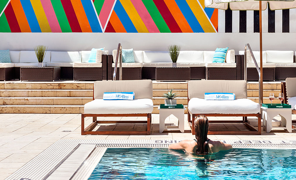 Five Hotels in Brooklyn, New York The Art of Travel McCarren Hotel Pool