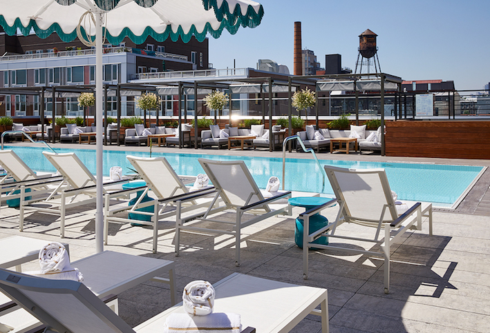 Five Hotels in Brooklyn, New York The Art of Travel William Vale Pool