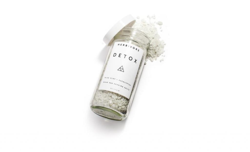 World Traveller Ahlem Manai Platt The Art of Travel Herbivore Botanicals Detox Bath Salt