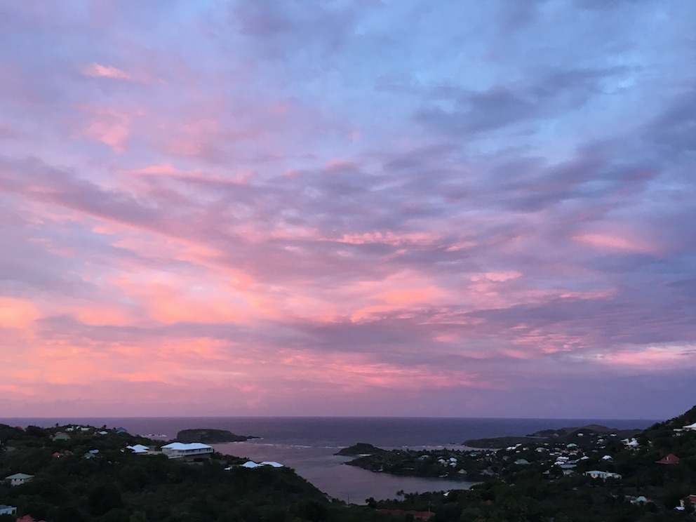 World Traveller Amalie Othilia Brandi Mikkelsen The Art of Travel Saint Barthelemy St Barths sunset