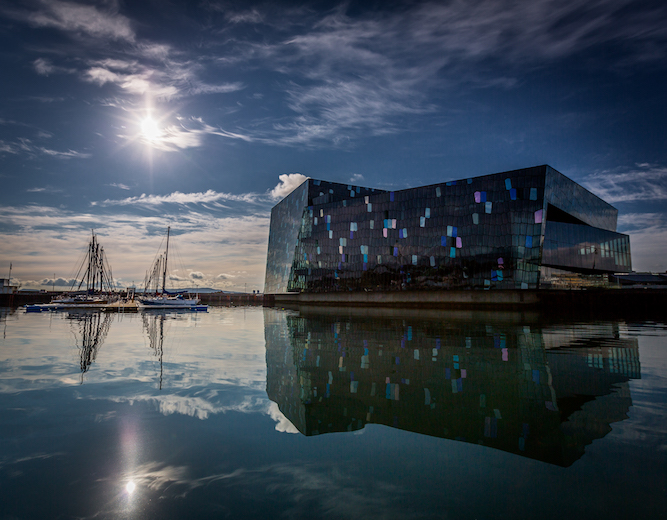 Reykjavik City Guide The Art of Travel Harpa Opera House Day