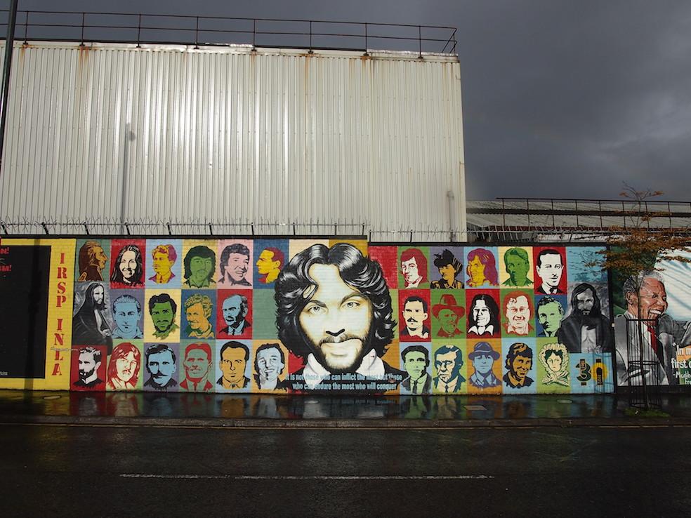24 hours in Belfast The Art of Travel Blackcab Political Tour Murals Street Art