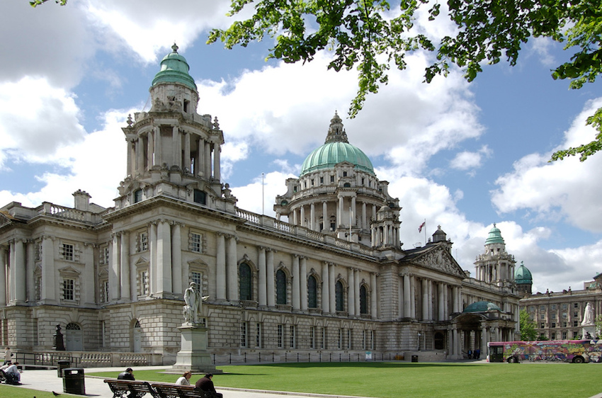 24 hours in Belfast The Art of Travel City Hall Donegall Square skies