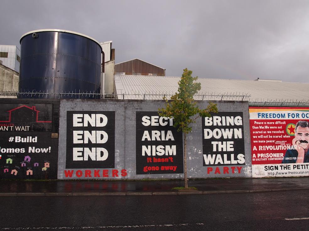 24 hours in Belfast The Art of Travel Murals Street Art Blackcab Political Tour
