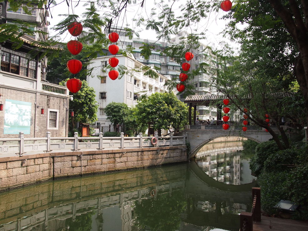 Guangzhou City Guide The Art of Travel Lychee Bay Rice Paper Lamp Bridge
