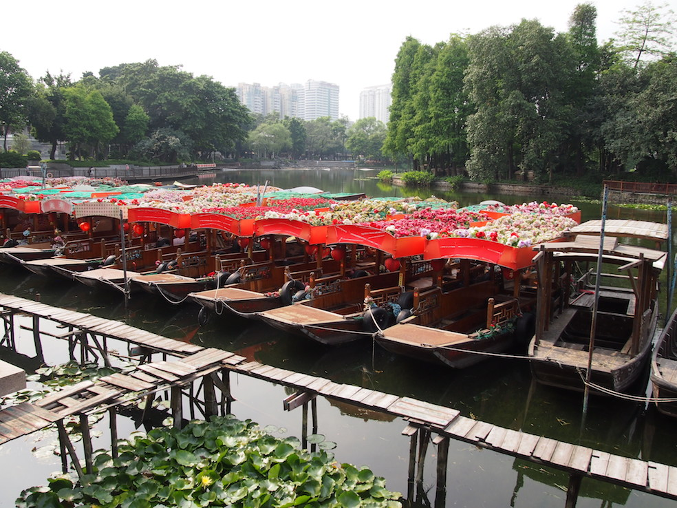 Guangzhou City Guide The Art of Travel Lychee Bay boats