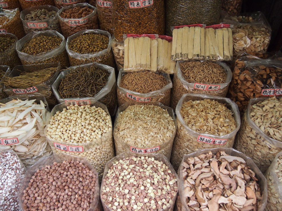 Guangzhou City Guide The Art of Travel Qing Ping Market Dried Mushrooms