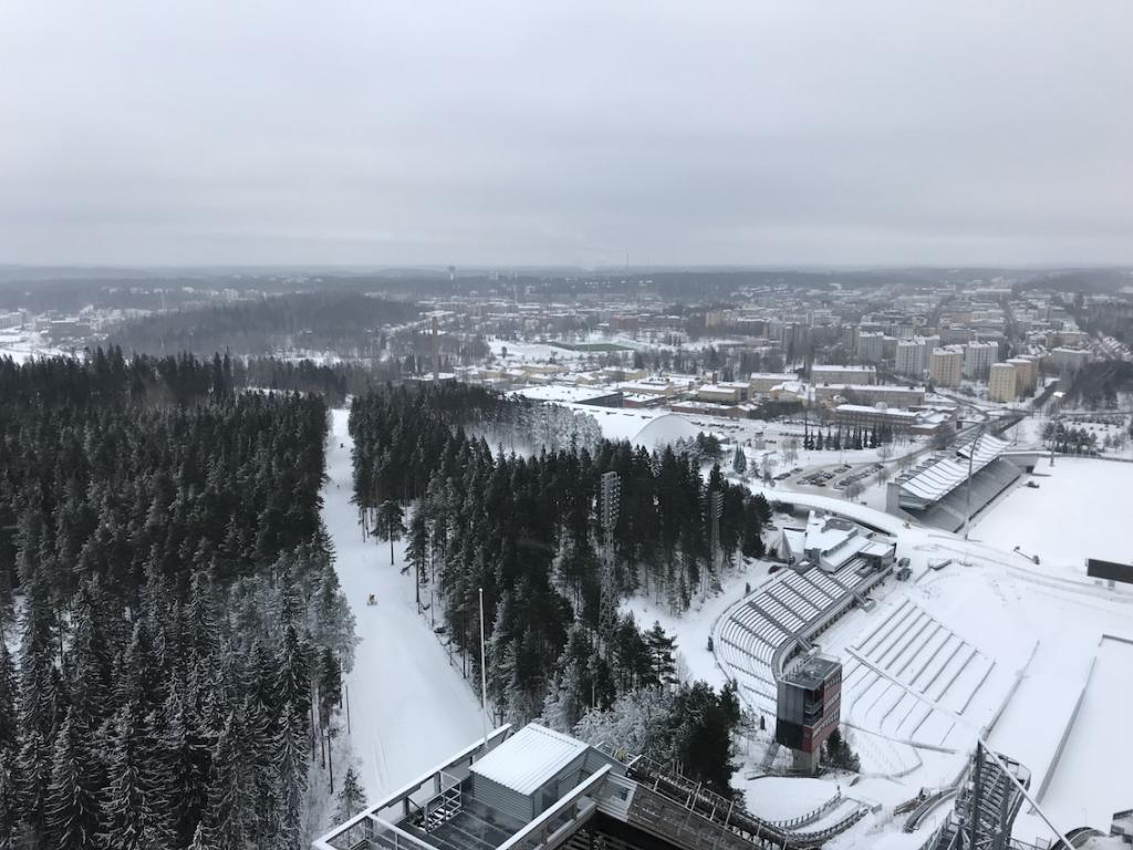 Five Days in Finland The Art of Travel Lahti Ski jump