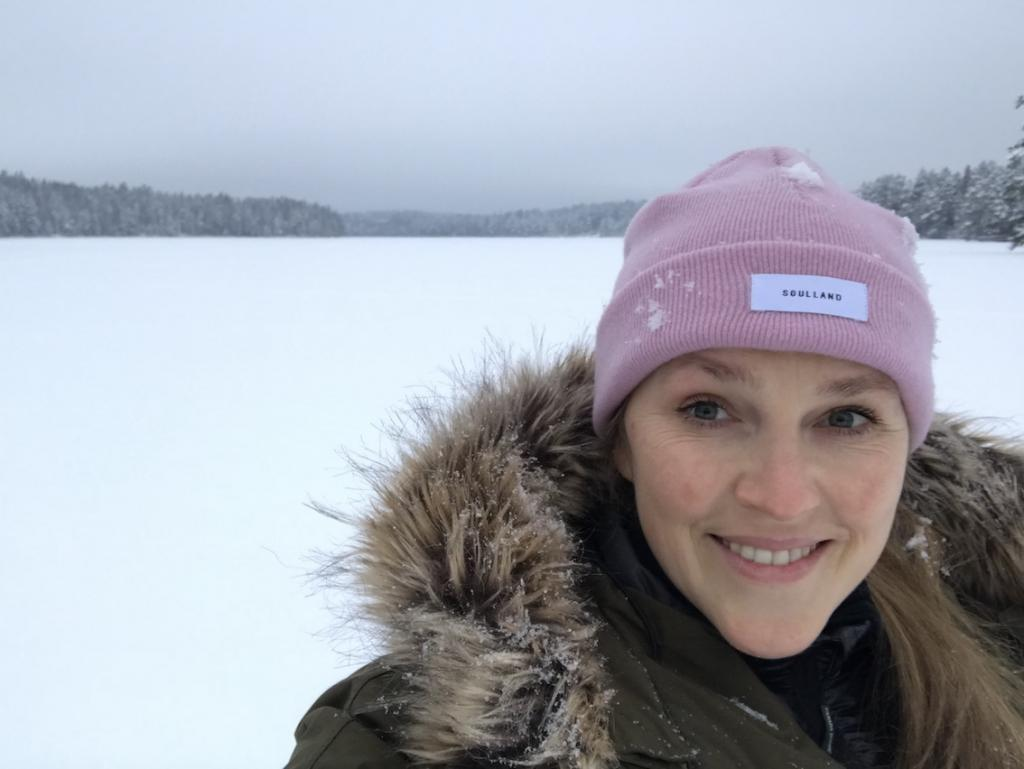 Five Days in Finland The Art of Travel Nuuksio National Park lake ice snow