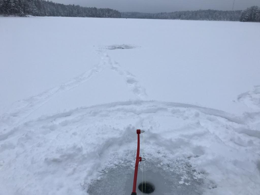 Five days in Finland The Art of Travel National Park Nuuksio Ice Fishing