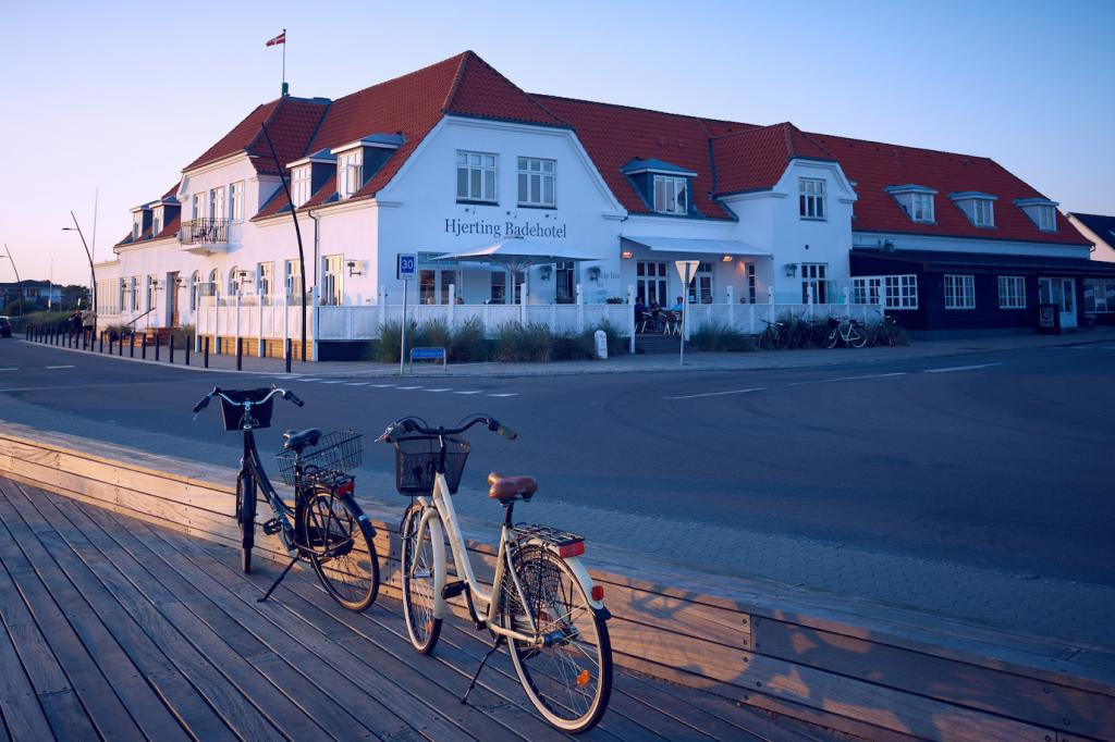 Travel guide to South West Denmark The Art of Travel Hjerting Badehotel