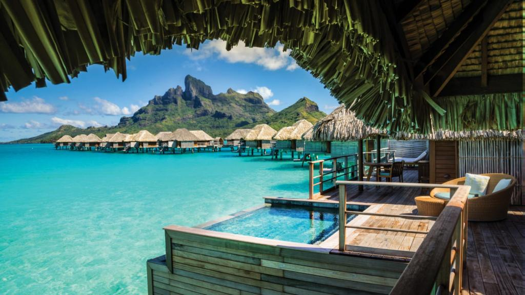 World Traveller Nazanin Rose Matin The Art of Travel Bora Bora Four Seasons