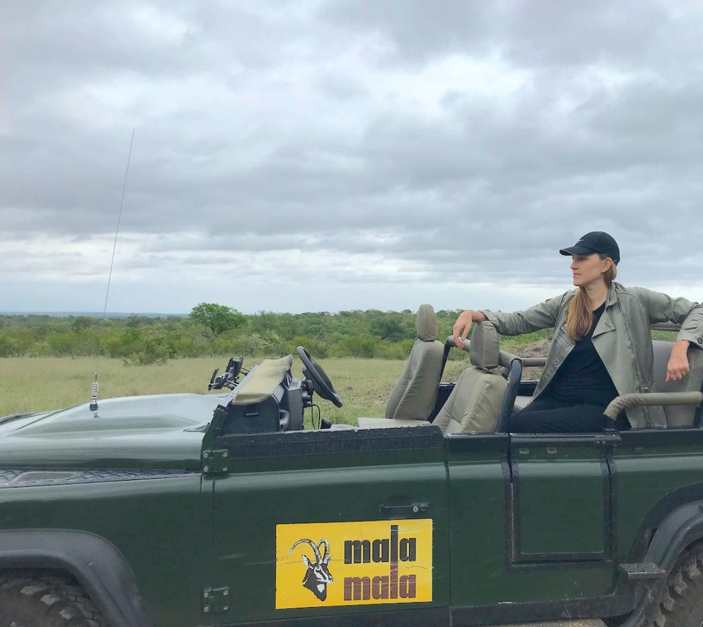 Safari in a private game reserve in South Africa The Art of Travel The Big Five jeep Anne Christine Persson