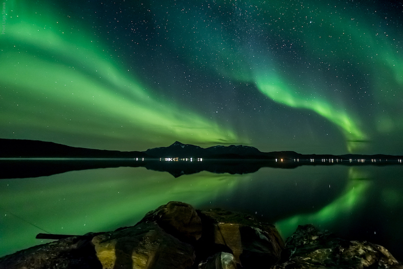 Travel guide to Tromsø in Norway The Art of Travel Nortnern Lights Fjord