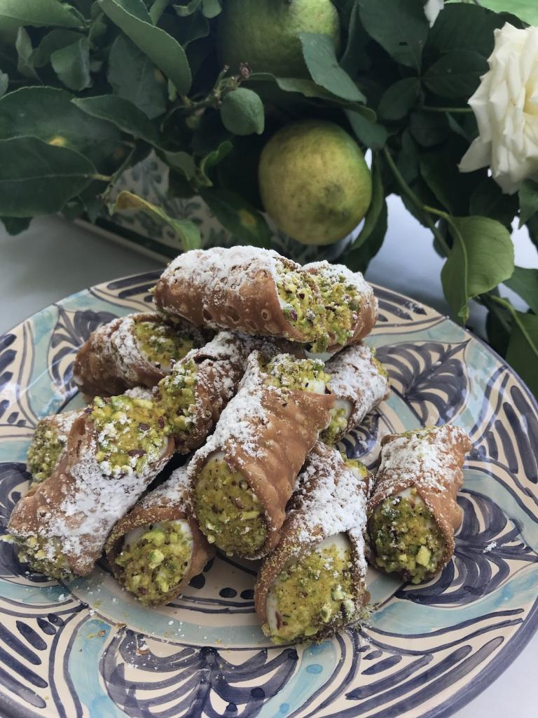 How to live it up in the former vineyard, Rocca delle Tre Contrade, in Sicily The Art of Travel cannolis