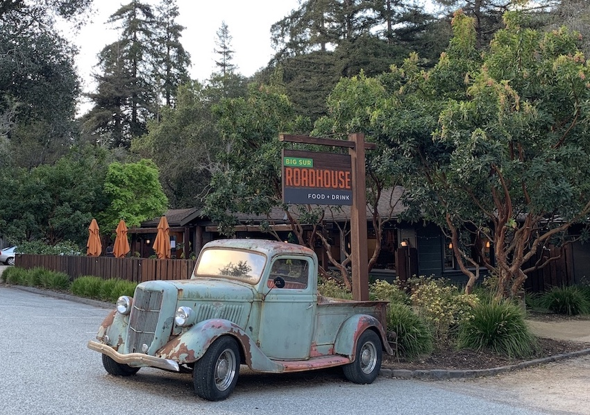 Five restaurants in Big Sur The Art of Travel Big Sur Roadhouse