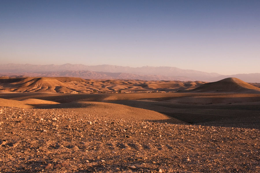 The bedouin camp close to Marrakech in Morocco The Art of Travel desert mountains Scarabeo Camp