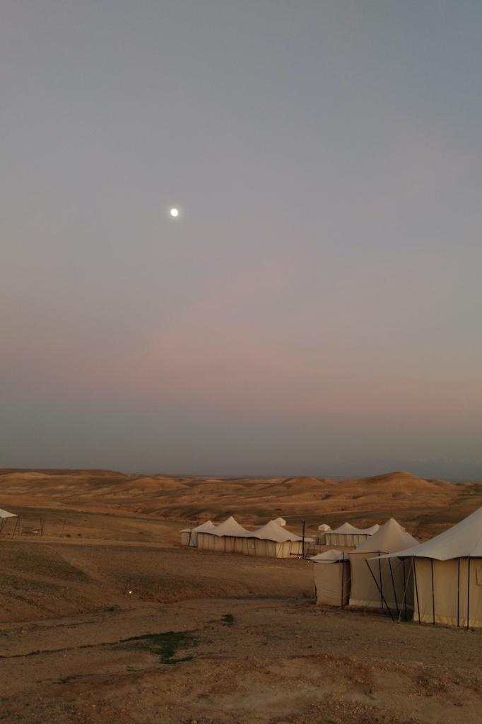 The bedouin camp close to Marrakech in Morocco The Art of Travel sunset Scarabeo camp